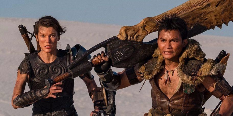 Hai diễn viên Milla Jovovich và Tony Jaa trong phim