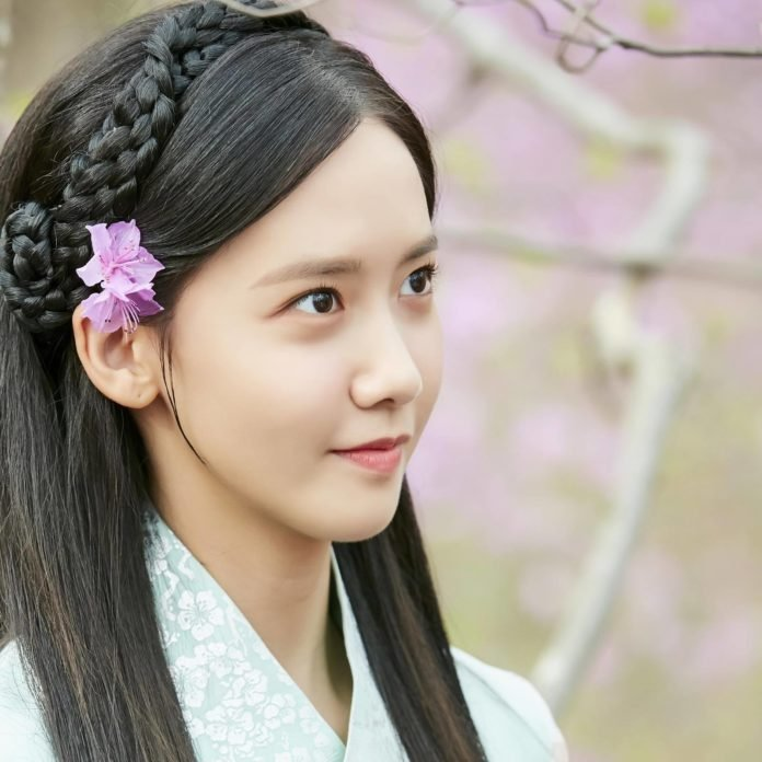 Tạo hình nàng Eun San xinh đẹp.