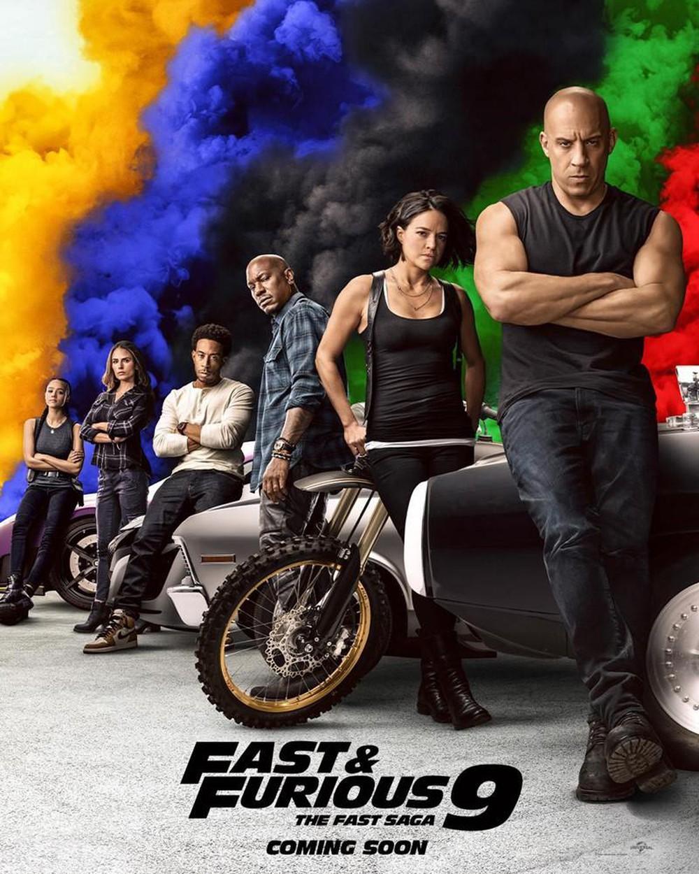 Bom tấn 'Fast & Furious 9' tiếp tục dời lịch chiếu một năm vì ...