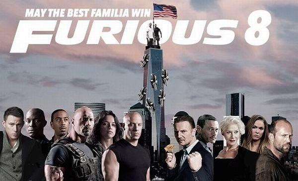 Fast and Furiuos 8 - phim hành động chiếu rạp